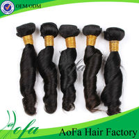 High quality 5A grade 100% peruvian remy 12 inch human hair extension