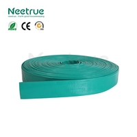 PVC layflat discharge types of plastic water pipe