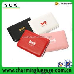 logo custom cartoon design elephant place leather visiting card holder