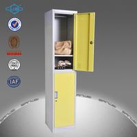 2 compartment steel staff locker for sale