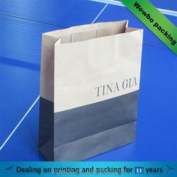 Custom Printed Papr Bag, Kraft Paper Bag, Shopping Paper Bag
