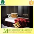 Moontree MBD-1112 alta calidad cama redonda y cabecera