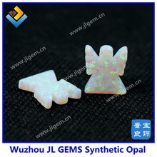 Synthetic Angel Opal Gemstone White Color Opal Angel for Fashion Jewelry