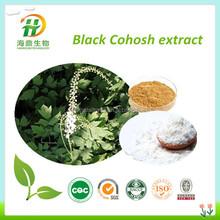 Manufacture Supply Triterpene Glycosides 8% HPLC/ Decreasing the cholesterol/Black Cohosh Extract Powder