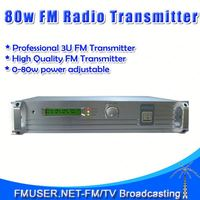 FMUSER FSN-801 80W FM radio station studios 0-80w Adjustable For FM Radio Station-RC4