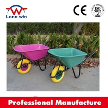 HEAVY DUTY LARGE PLASTIC WHEEL BARROW GARDEN DIY BUILDER