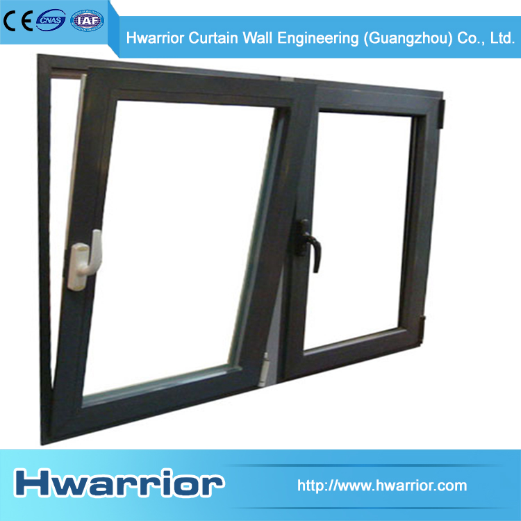 Hwarrior Window Glass Laminated Glass Aluminum Double Hung