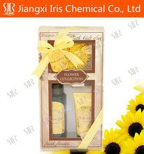 Hotel amenity Kit , Toiletry travel kits sunflower perfume