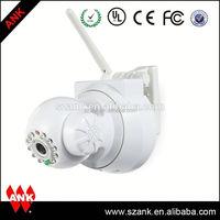 ANK clock radio hidden camera rechargeable wireless ip camera wifi