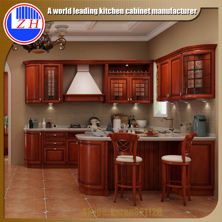 Wood Kitchen Cabinet Buy Wood Veneer Kitchen Cabinet Modular Kitchen