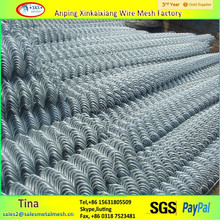 Pvc coated/galvanized chain link fence, chain link fence panel, chain link fence per sqm weight