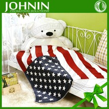 Hot Selling Cost- effective Mass Customizatio American Flag Polar Fleece