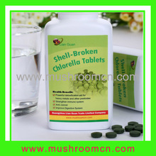 Shell Broken Chlorella tablets a great source of protein and vitamins