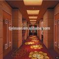Luxo mais projeto nylon hotel corredor tapete