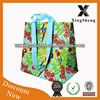 New style bird&flower recyclable woven shopping bag