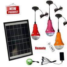 Hot sell CE 1/2/3*3W LED solar kit, solar home lighting kit for indoor use