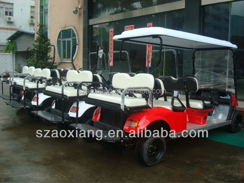 6 passenger electric vehicle for sale with 48v dc motor for Electric vehicle motors for sale