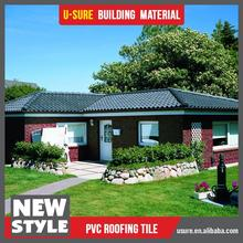 Wave design synthetic resin tile color roof philippines
