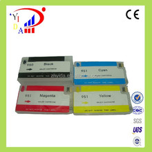 Hot selling refillable for hp 950 951 ink cartridge with ARC chip for hp 8600 8100 8610 8620 8630 8640