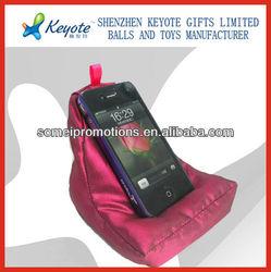 Bean bag cell phone chair