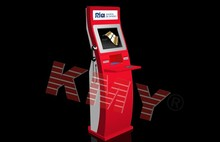Custom slim multimedia advertising kiosk with keyboard, kiosk kodak