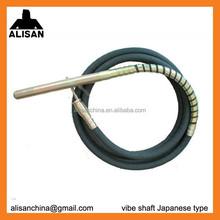 38mmx6m giapponese tipo vibratore per calcestruzzo albero flessibile
