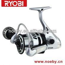 RYOBI NEW ALUMINIUM SPOOL FULL METAL BODY SPINNING REEL fishing reel handle knob