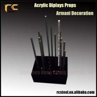Custom Fashion Plexiglass Lightening Decoration for Armani RCAC37