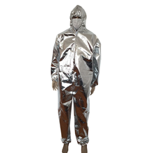 Disposable surgical breathable protective clothing protective Heat insulated and fire resistant coverall
