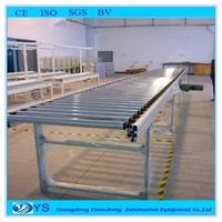 Dynamic roller conveyor assembly line.