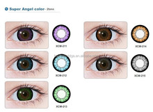 GEO Super Angel Blue XCM-212 Color Contact Lens (Korean Authentic Lens with anit-fake stickers)