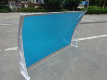 Waterproof Polycarbonate awning canopy/Window with UV Protection SGS test