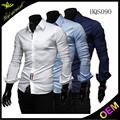 moda casual camisa chinesa para homens