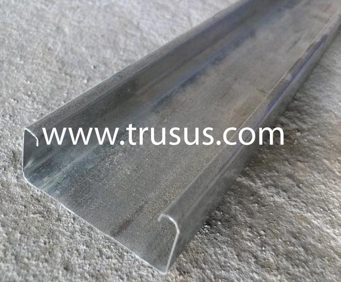 Steel Track U S Steel : Stainless steel profile suspended ceiling and drywall
