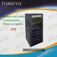 Data Centre Server / Solar UPS LiFePO4 48V 200Ah lithium iron modules in parallel