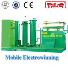 Mining Equipment For Cyanide Leaching Process Mobile Desorption Copper Electrowinning Machine