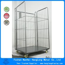 Heavy Warehouse Folding metal storage cage HL-CN001