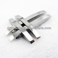 Stainless jewelry jewelry making sideways cross