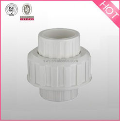 pvc plastic bs standard thread union pipe fittings