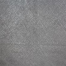New geometric figure design burn-out sofa fabric with bonded fabric for sofa velvet fabric for sofa
