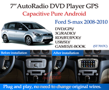 In dash android multimedia car DVD player with Navigation for ford Transit Connect (2010)