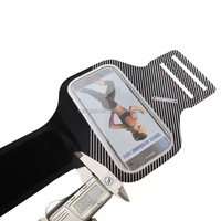 Hot Selling 0.8mm/29g Adjustable running sports armband for iphone 6 plus