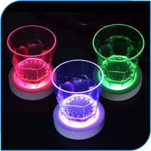 High Quality Party Favor Led Colorful Drink Coaster