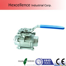 PN63 Nominal Pressure ISO5211 flange Direct Mount ball Valves pn40