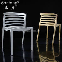 comfortable PP plastic chairs/ stacking dining chairs 1200