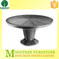 Moontree MDT-1112 china supplier restaurant white oak dining table and chairs