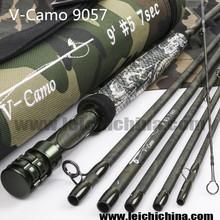 2015 new design carbon fiber V-Camo 9057 fly fishing rod