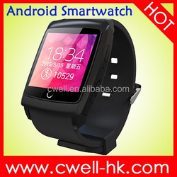 Uwatch U18 WIFI/GPS SmartWatch Android 4.4 MTK6571 Dual Core Predometer/Anti-Lost/Sport Tracking/Sleep Monitor