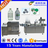High speed Auto pharmaceutical alcohol filling machine