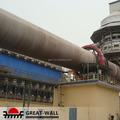 Cemento horno rotatorio para egipto súper ventas en europa